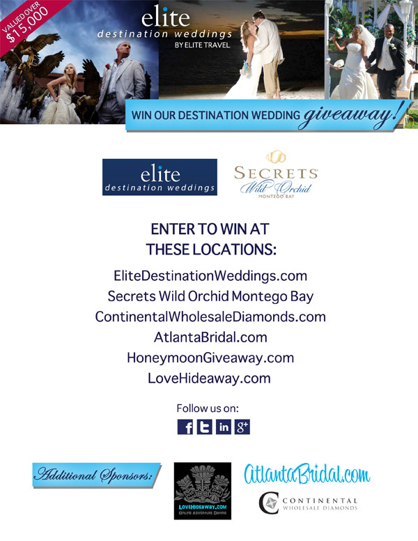 Elite Travel Destination Wedding Giveaway