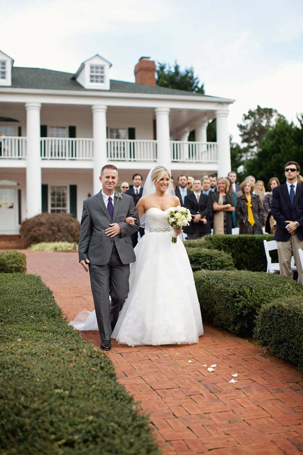 Real Atlanta Wedding: Alyssa and William Choose Sanctuary Plantation