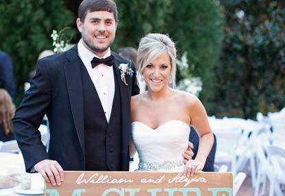 Real Georgia Wedding: Alyssa and William Choose Sanctuary Plantation
